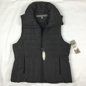 NWT Kenneth Cole Reaction Down Feathers Puffy Vest
